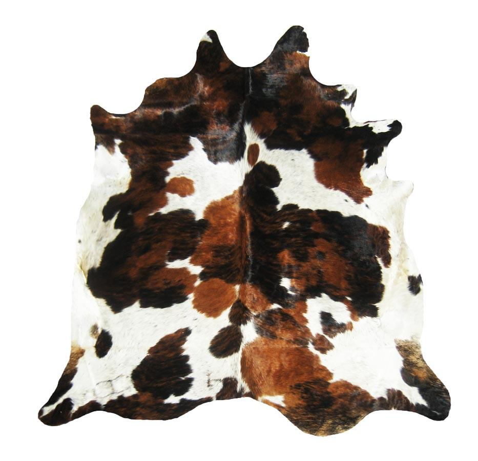 Exotic Tri Color Cowhide Thingz Contemporary Living